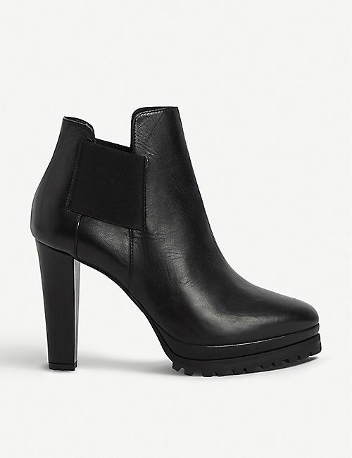 Allsaints Sarris Leather Boots Selfridgescom