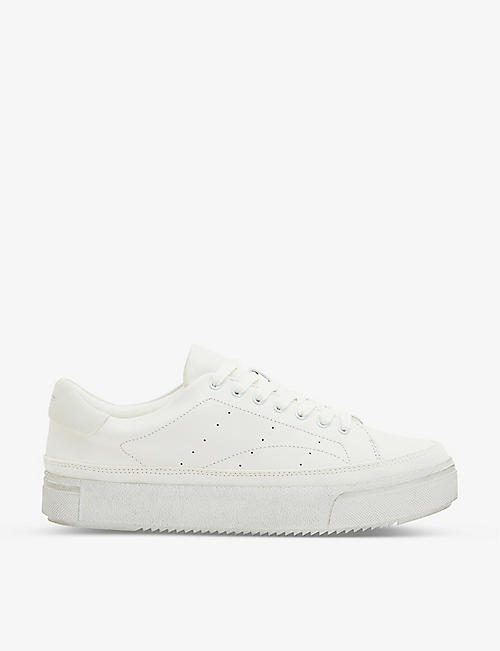 ALLSAINTS Trish leather trainers