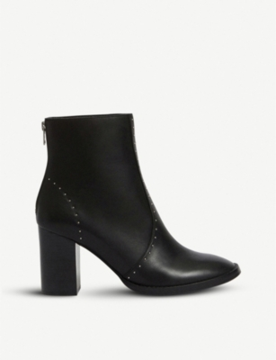 ALLSAINTS Mila leather heeled ankle boots