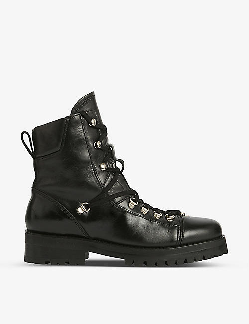 ALLSAINTS: Franka leather boots