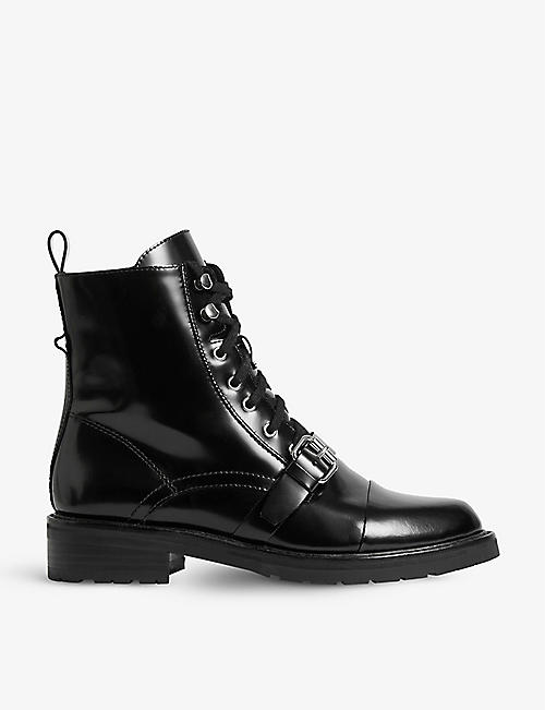 ALLSAINTS: Donita leather boots