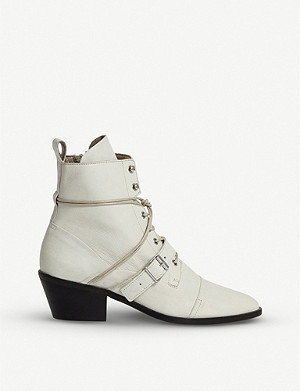 ALLSAINTS Katy heeled leather boots