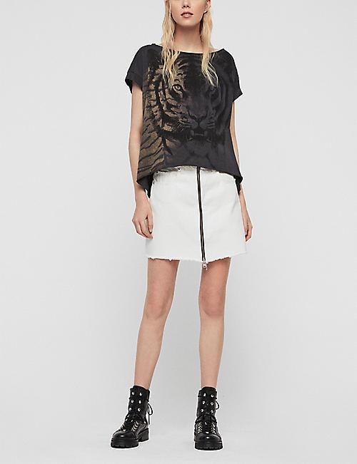 f1eea14a56c ALLSAINTS - T-shirts   Vests - Tops - Clothing - Womens - Selfridges ...
