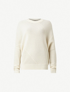 ALLSAINTS Deon knitted wool and cashmere-blend jumper