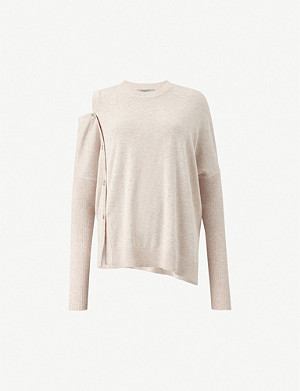 ALLSAINTS Ria knitted cotton-blend jumper