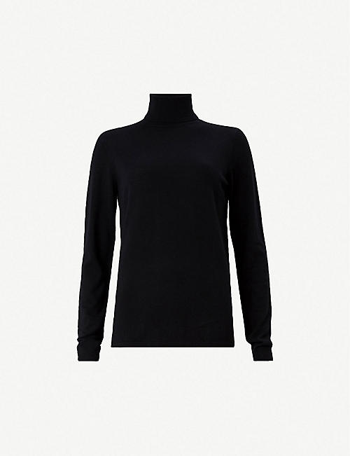 ALLSAINTS Ira merino wool roll neck sweater. Quick view Wish list 6490f8164