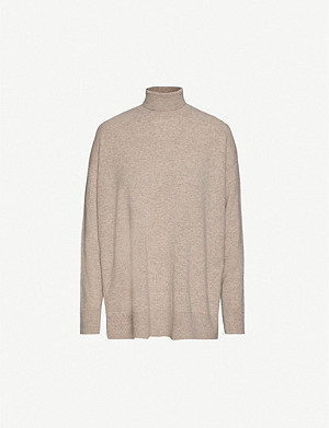 ALLSAINTS Gala turtleneck relaxed-fit cashmere jumper