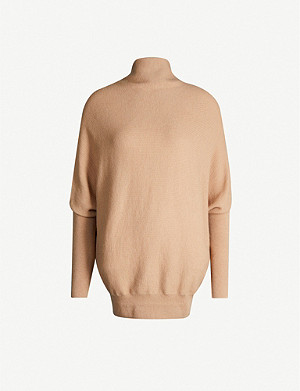 ALLSAINTS Ridley wool and cashmere-blend jumper