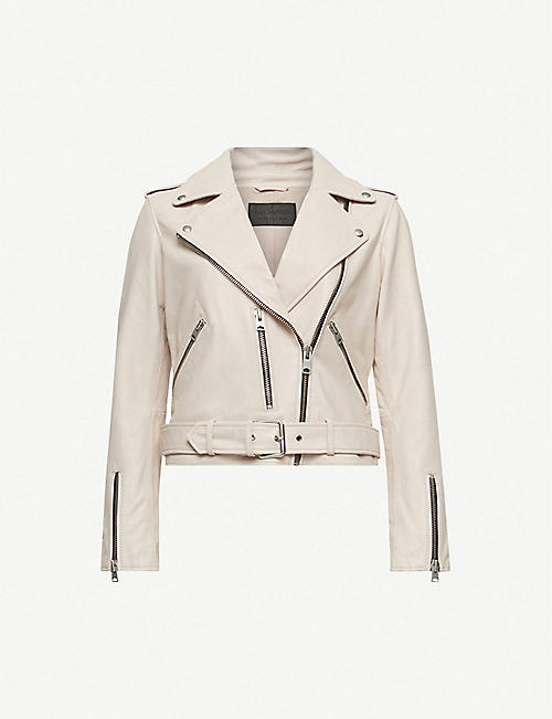 a9e10eeff1 ALLSAINTS Balfern leather biker jacket
