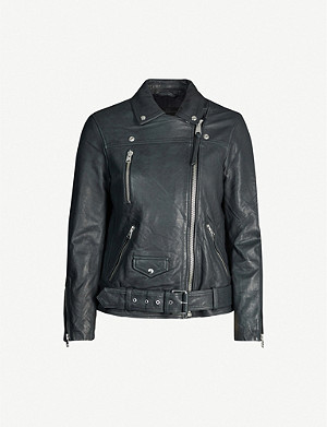ALLSAINTS Eline leather biker jacket