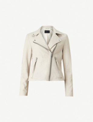 ALLSAINTS Dalby leather biker jacker