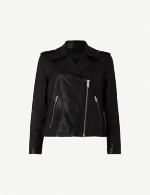 ALLSAINTS Aiden leather biker jacket