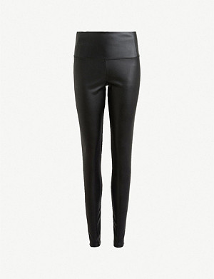 ALLSAINTS Cora faux-leather leggings