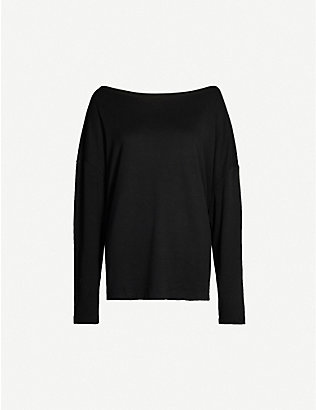 ALLSAINTS: Rita long sleeved jersey top