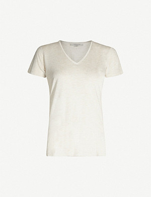 ALLSAINTS Emelyn Shimmer cotton T-shirt