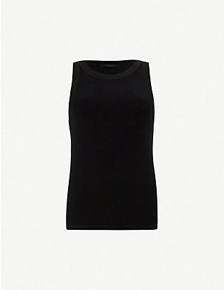 ALLSAINTS: Rina stretch-jersey tank top