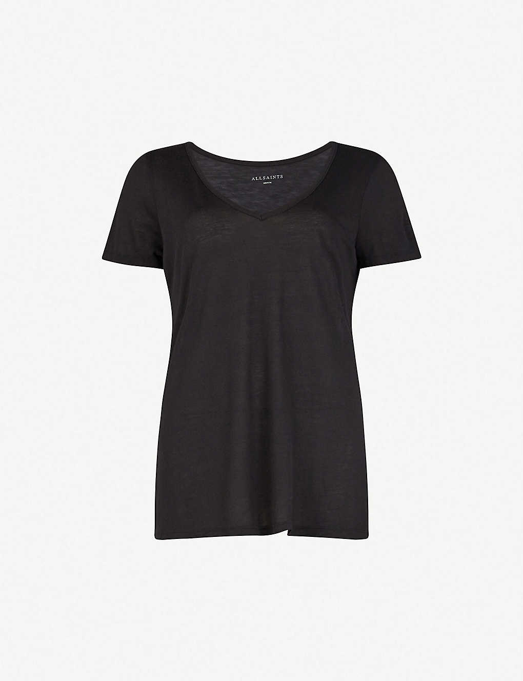ea864ccd ALLSAINTS - Malin jersey T-shirt | Selfridges.com
