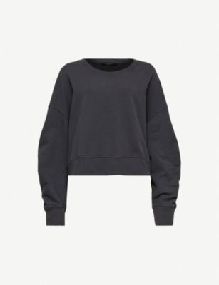 ALLSAINTS Marna oversized cotton sweatshirt