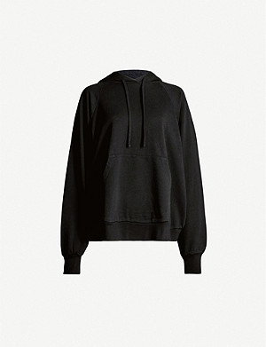 ALLSAINTS Talon logo-embroidered cotton-jersey hoodie