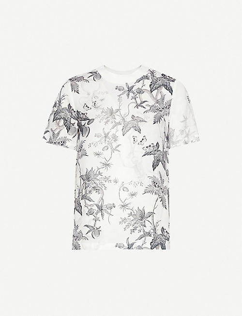 ALLSAINTS Evolution stretch-jersey T-shirt
