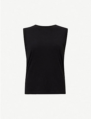 ALLSAINTS: Imogen sleeveless cotton top