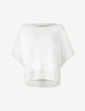 ALLSAINTS Quince stretch-jersey sweatshirt