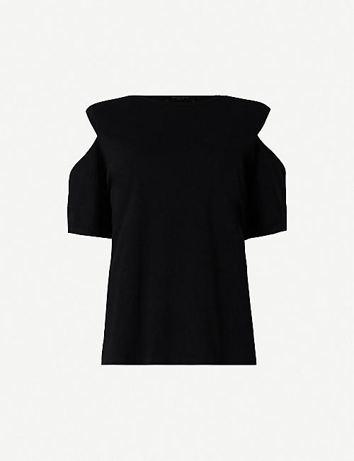 05ae5f164e ALLSAINTS - T-shirts & Vests - Tops - Clothing - Womens - Selfridges ...
