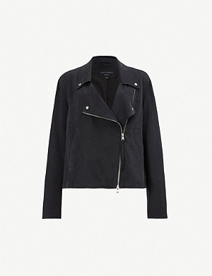 ALLSAINTS Macey stretch-jersey jacket