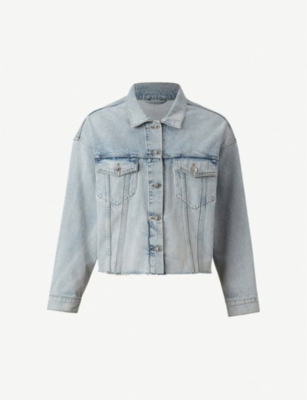 ALLSAINTS Piper oversised denim jacket