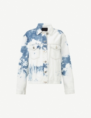ALLSAINTS Sage oversised denim jacket