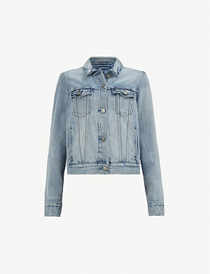 ALLSAINTS Hay washed denim jacket