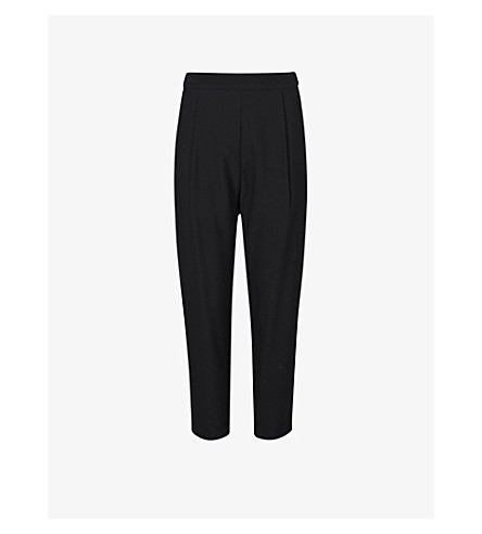 Allsaints  Aleida tapered woven trousers