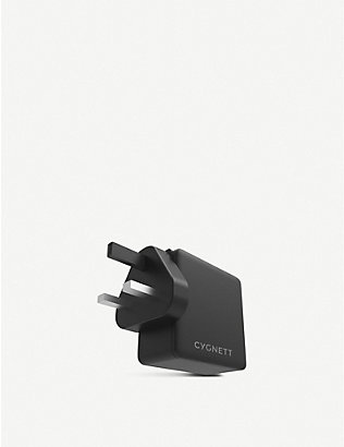 CYGNETT: PowerFlo+ USB-C PD 60W Wall Charger