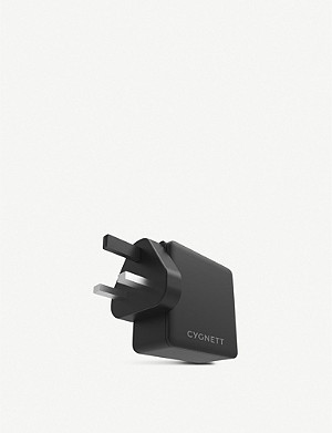 CYGNETT PowerFlo+ USB-C PD 60W Wall Charger