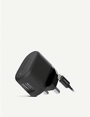 CYGNETT: Flow Dual USB Wall Charger and Lightning Cable