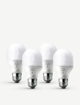 LIFX Mini Colour White Smart LED E27 set of 4 bulbs