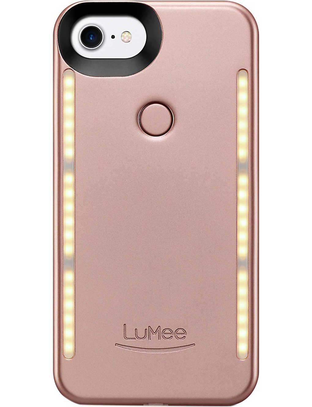 premium selection 1a959 6c731 LUMEE - Lumee Duo Selfie iPhone 7 Phone Case | Selfridges.com