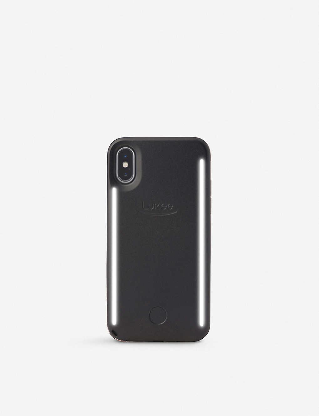 detailed look 063fe aa529 LUMEE - Duo Marble iPhone X Selfie Case | Selfridges.com