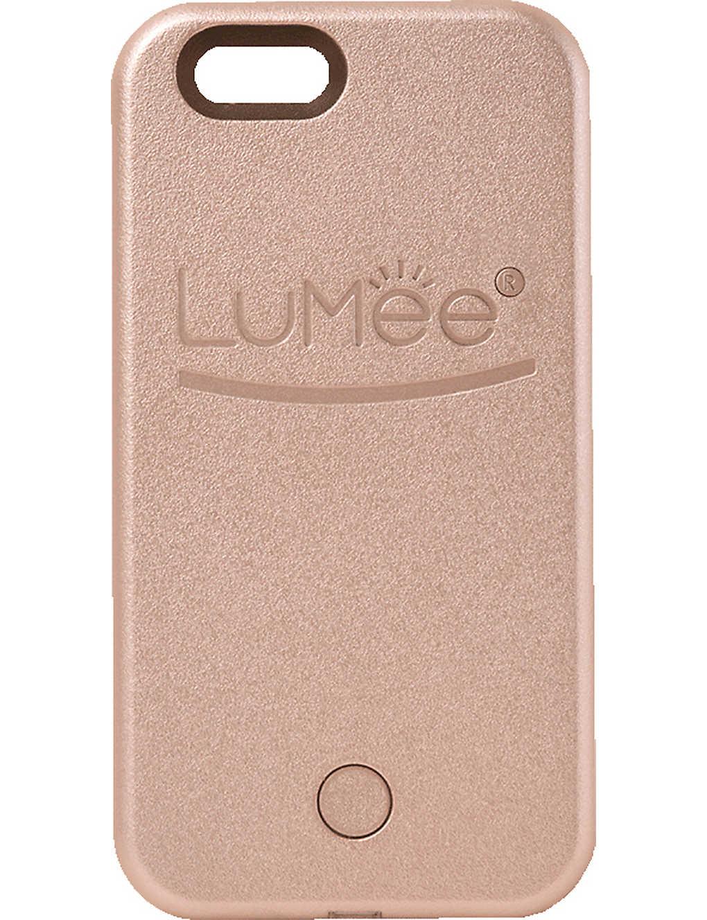 newest 9be2b 20410 LUMEE - Lighted selfie iPhone 6 phone case | Selfridges.com