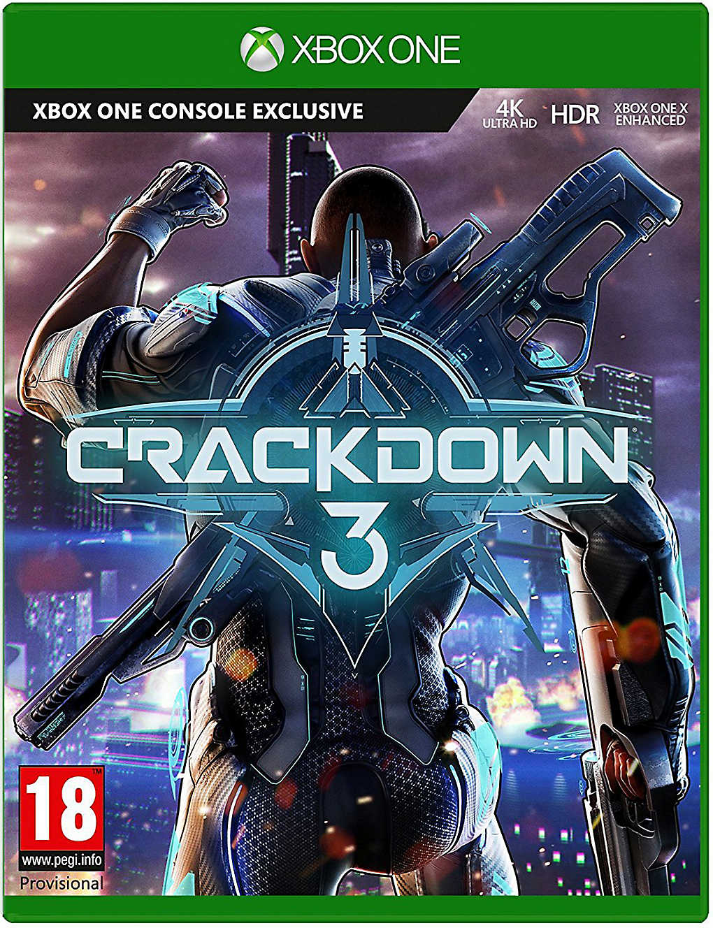 MICROSOFT: Crackdown 3 Xbox One game