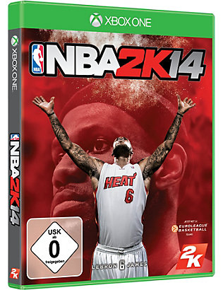 MICROSOFT:NBA 2K14 Xbox One 电子游戏