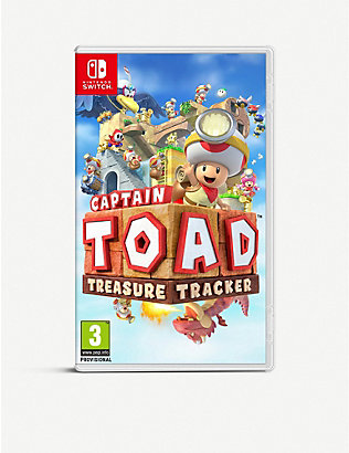 NINTENDO: Captain Toad Treasure Tracker Switch Game