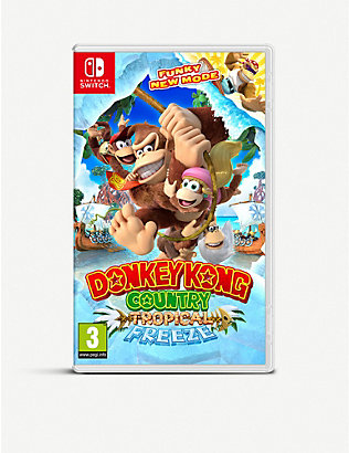 NINTENDO: Donkey Kong Country Tropical Freeze Switch Game