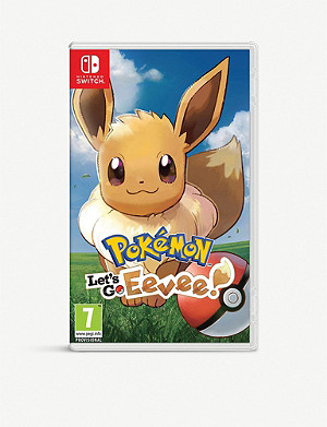 NINTENDO Pokémon: Let's Go Eevee Switch game