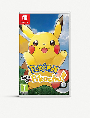 NINTENDO Let's Go Pikachu! Switch game