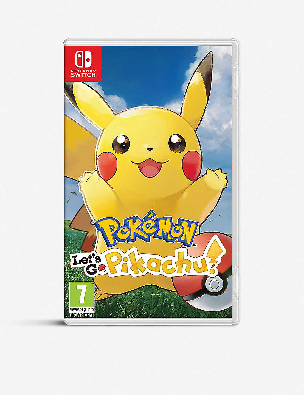 NINTENDO: Let's Go Pikachu! Switch game