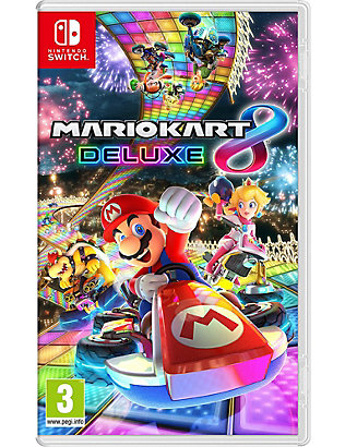 NINTENDO: Mario Kart 8 Deluxe Switch Game