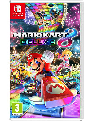 NINTENDO Mario Kart 8 Deluxe Switch Game