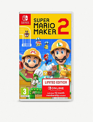 NINTENDO Super Mario Maker 2 Switch Limited Edition