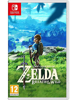 NINTENDO: Zelda breath of the wild switch game